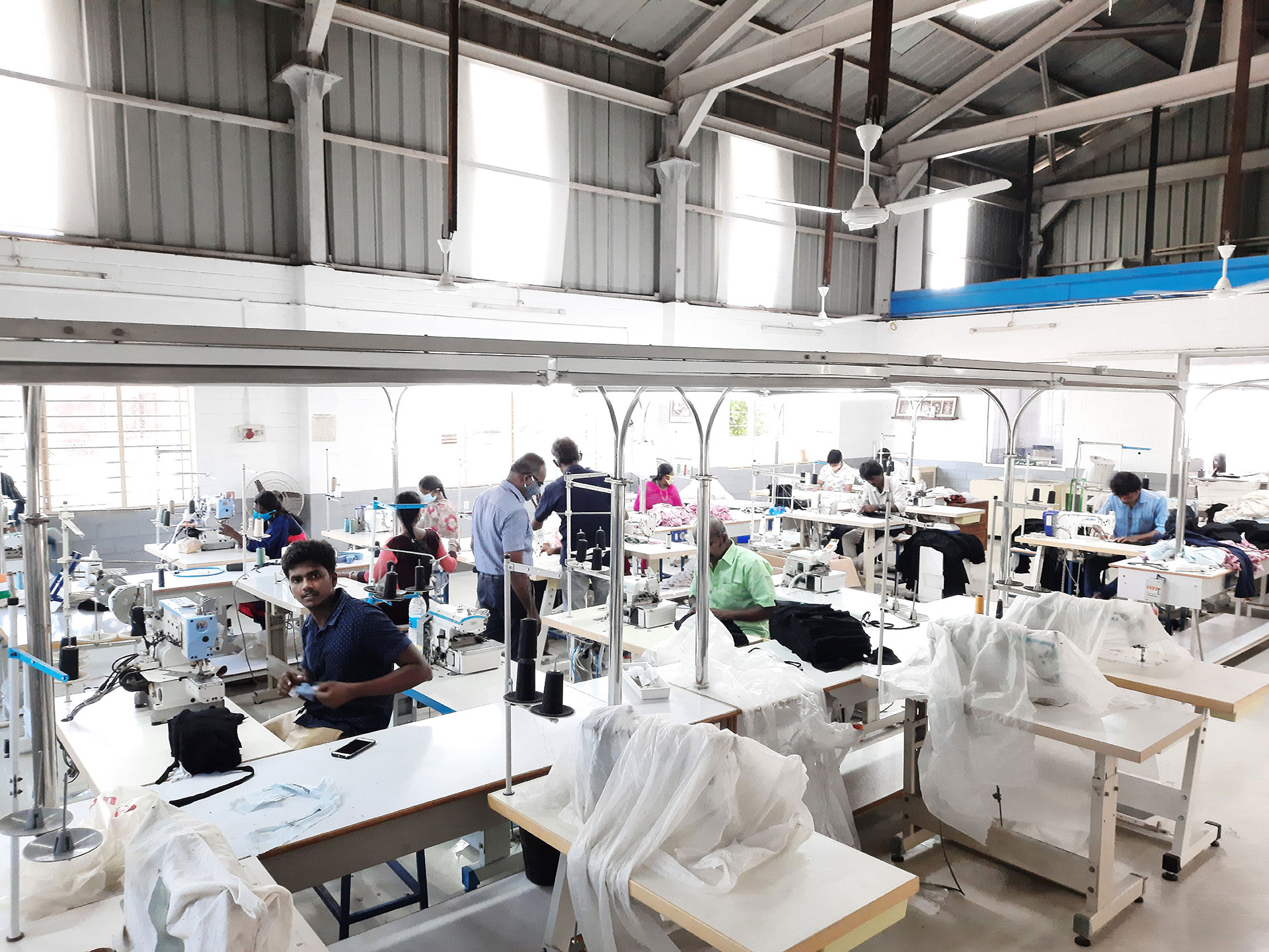 Ethical fashion manufacturing
