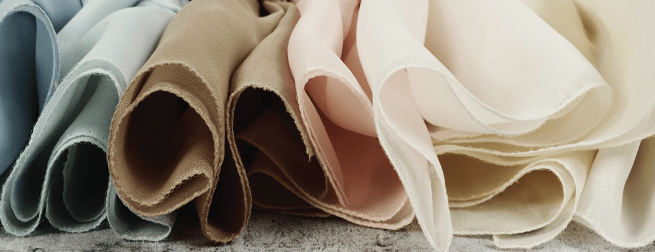 Fabric samples being laid out for Quality checking